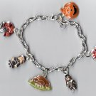 Thanksgiving Charm Bracelet