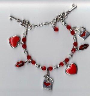 Valentines Day Charm Bracelet