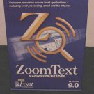 NEW AI SQUARED ZoomText MAGNIFIER and SCREEN READER Version 9.0 - FACTORY SEALED!