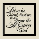 Let Us Be Silent 2