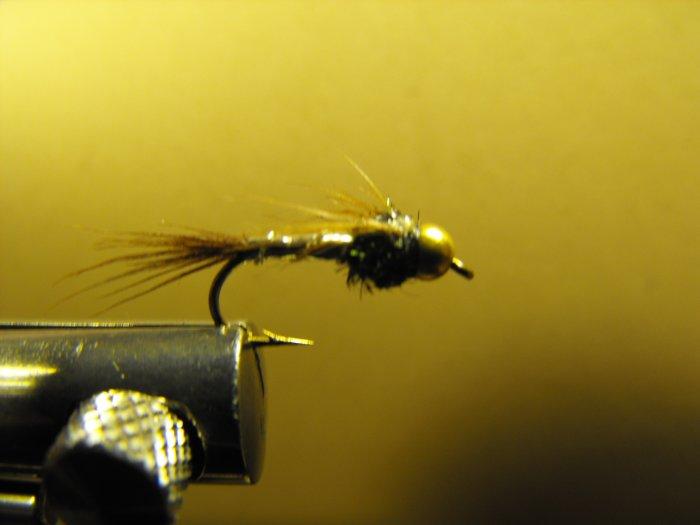 Lightning Bug - Brass Bead Head