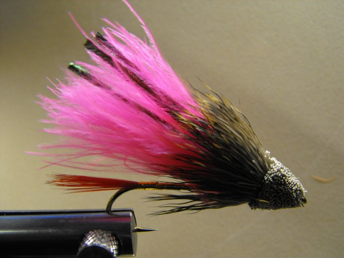 Marabou Muddler Minnow, Pink