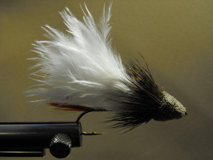 Marabou Muddler Minnow, White