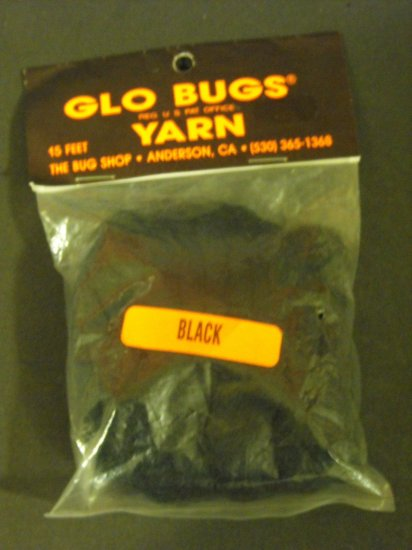 Glo Bugs Yarn, Black