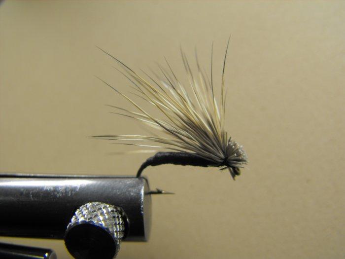 Foam Elk Hair Caddis - Black