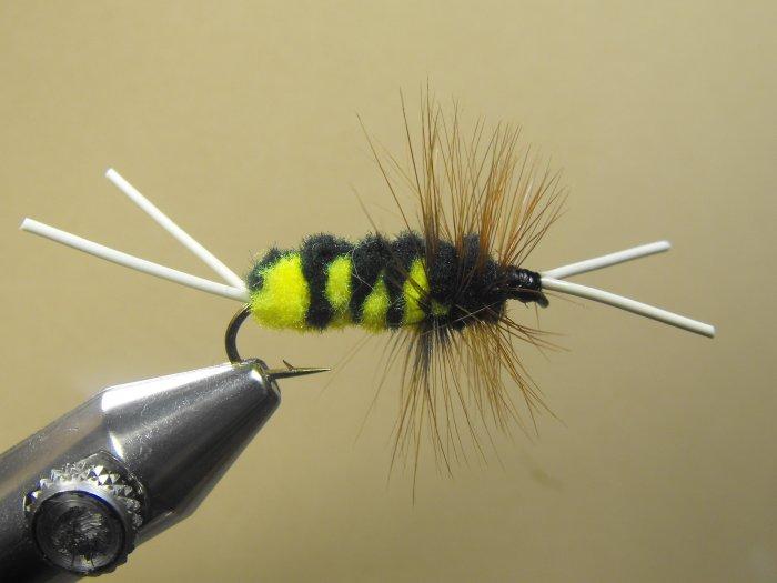 Blitz Creek Nymph - Black & Yellow - Wet Fly