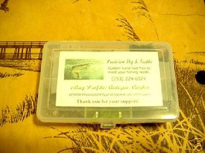 80 New Trout Flies Assortment & Fly Box U Pick