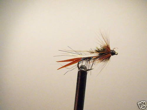 1 Dozen Rainbow  Prince Nymph Wet Fly Trout