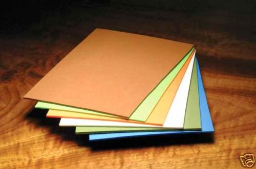 25 fly tying craft Foam Sheets, asst colors - Body Wing