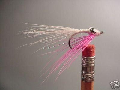 1 Doz - Clouser Minnow - Pink   - Wet Fly