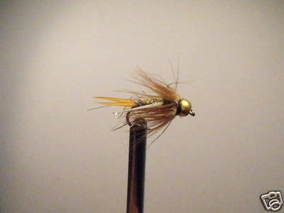 12 Brass Bead Rainbow Prince Nymph Wet Fly Trout