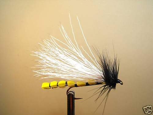 12 Yel Adult Stonefly  Dry Fly Trout, Steelhead, Salmon