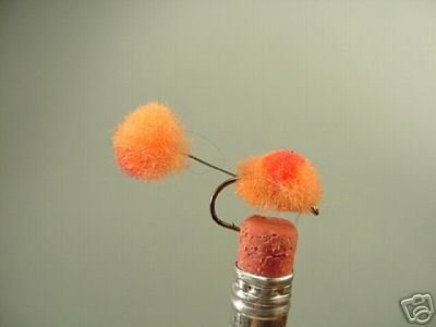 1 Dzn -  Mini Double Glo Bugs - Trout & Steelhead