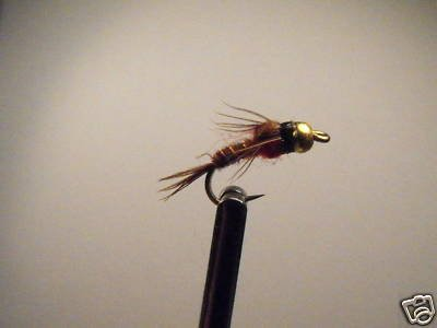 12 Hot Shot Ong -  BH Pheasant Tail Nymph Wet Fly Trout