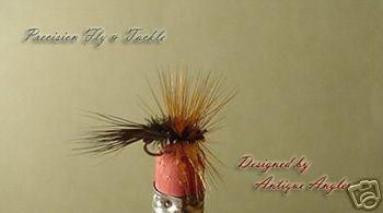 1 Dozen - Peacock Adams - Deer Tail - Dry Fly