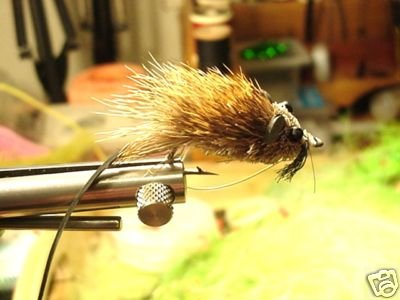 4 each - Fly Fishing DEER HAIR MOUSE RAT BASS Fly  Sz 1