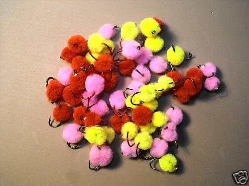 12 - Quality Glo Bug Egg - Salmon Trout Steelhead Dolly