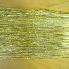 """Gold Holographic Fly Flash for Fly Tying, 1/16"""" Wide"""