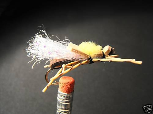6  - Foam Fat Albert Fly Trout, Steelhead, Bass