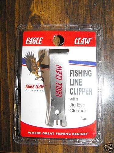 Eagle Claw Stainless Steel Line Clipper - Fly Fishing