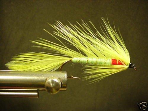 12 Yellow Matuka Wet Fly - Trout, Salmon, Steelhead