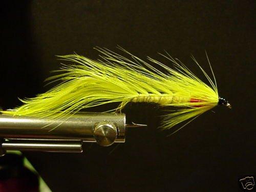 12 Chartreuce Matuka Wet Fly - Trout, Salmon, Steelhead