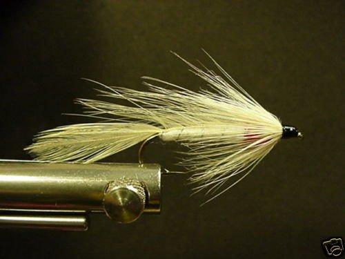 12 White Matuka Wet Fly - Trout, Salmon, Steelhead