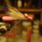 1 Dzn  -  Foam Pink Grass Hopper - Dry Fly Assortment