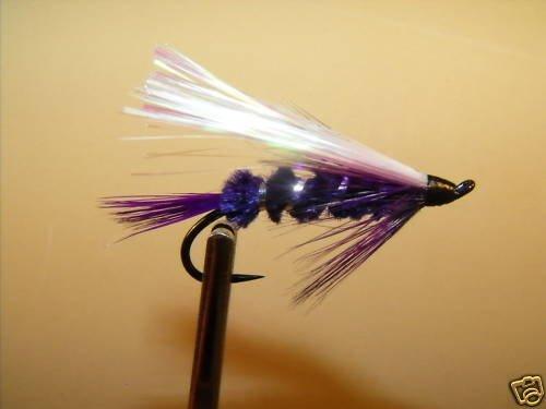 6 Flies - Street Walker Salmon Steelhead Trout Wet Fly