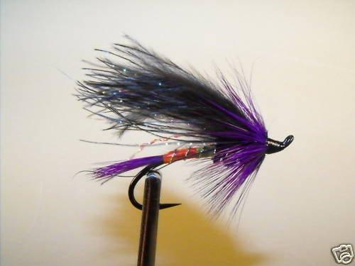 6 Flies - Signal Light - Salmon Steelhead Trout Wet Fly