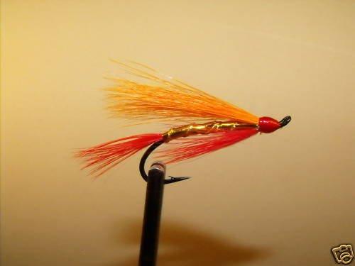 6 Flies - Fall Favorite Salmon Steelhead Trout Wet Fly
