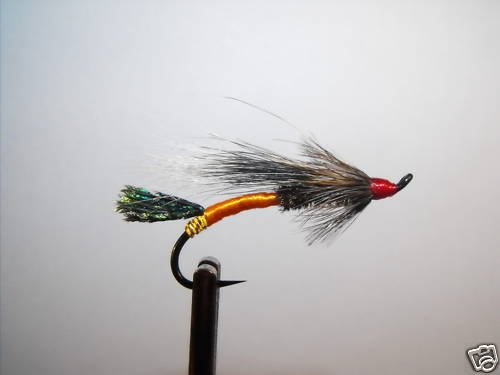 6 Flies - Rusty Rat - Salmon Steelhead Trout Wet Fly