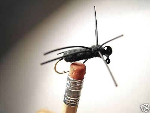 1 Dozen Cap Spider Wet Fly -  Bream, Perch, Bluegill
