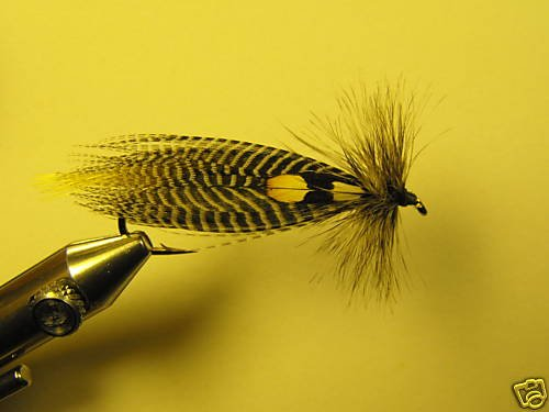 1 Dzn - Natural Hornberg -  Wet Fly Trout & Steelhead