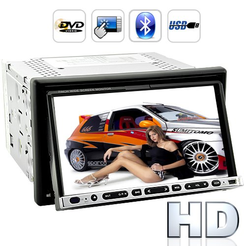 [CVGX-C85]  Road Hammer 7 Inch High-Def Touchscreen Car DVD Player
