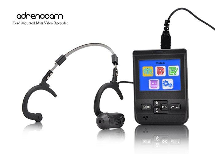 AdrenoCam - Head Mounted Mini Video Recorder  [CVVJ-DC37]