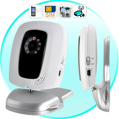 GSM Remote Security Camera with Night-Vision - Quad Band    [CVPU-DC23]