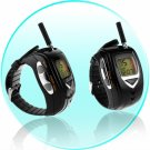 Walkie Talkie Watch Set - Spy Edition - EU  [CVEAT-007-BLACK-EU]