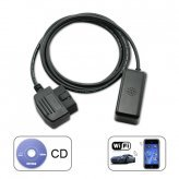 WiFi OBD-II Car Diagnostics Tool for Apple iPad iPhone iPod Touch  [CVSN-A81]