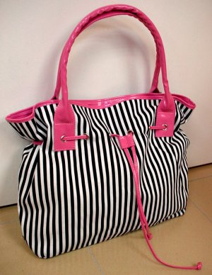 Mary Mary B&W Pink Bag