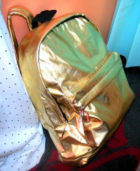 Mary J Gold Shiny Backpack