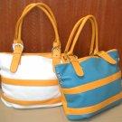 Samantha Yellow (BL/WH) Bag