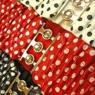 Scrunched Polka Dotted Belt