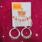 Zarra White Earrings