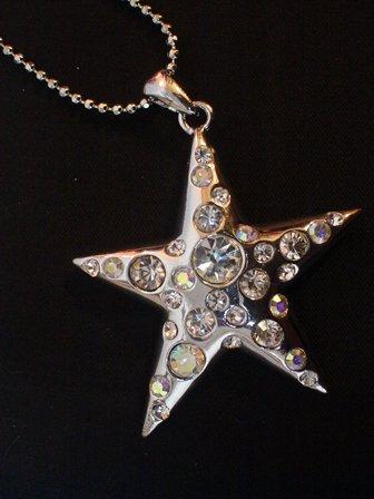 Jojo Shock Star Silver Necklace