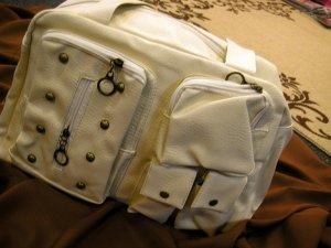 J Joplin (White/LBrown/DBrown) Bags