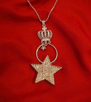 Kay Vu Kay StarCrown Silver Necklace