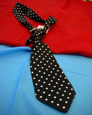 Ash Kutch Short Polka Dot Tie