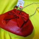 Latina Bell Deep Orange Dinner Purse