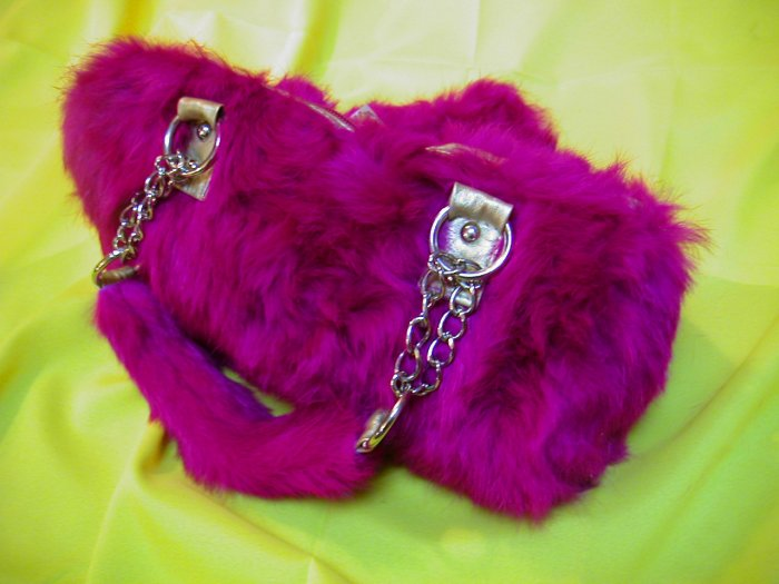 My Fur Purrs Pink Bag